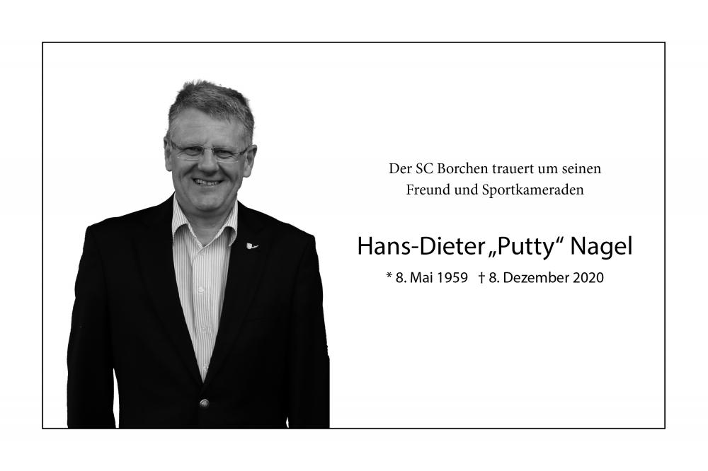 """Nachruf: Die Basketballabteilung trauert um Hans-Dieter """"Putty"""" Nagel"""